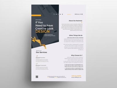 Marketing & Agency Brand Free PSD Flyer template free flyer free psd flyers free psd flyer flyer design poster flyer