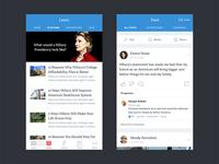 Campaign iOS App
