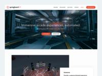 VR Gaming Landing Page