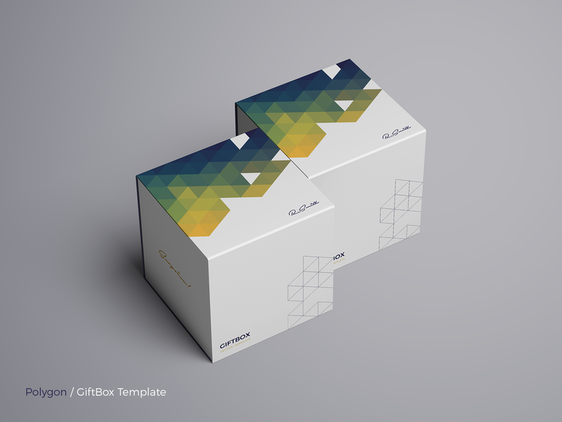 Polygon - GiftBox Vector Template