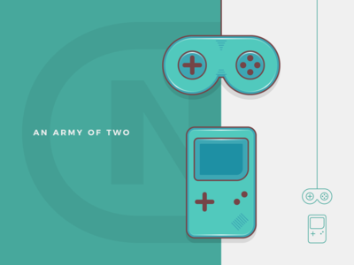 Nintendo Gamepad + Gameboy