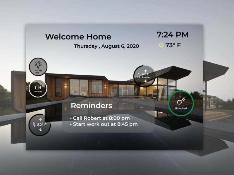 Daily UI 021 home improvement user experience user interface ui ux ux ui clean ui minimal sleek clean smart house figmadesign figma home home monitoring home monitoring dashboard daily ui 21 daily ui 021 daily ui dailyuichallenge