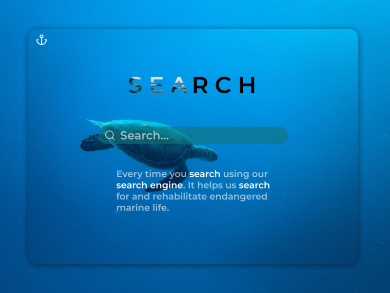 Daily UI 022 waves ocean sea creatures endangered species sea turtle turtle marine life sea search engine optimization search engine optimizing google search google search design search engine search bar search daily ui 22 daily ui 022 daily ui dailyuichallenge