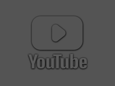 Daily UI 052 ui figma design figma minimal gray dark clean youtube logo redesign youtube logo youtube logo logo design logo redesign matte black matte matte gray daily ui 52 daily ui 052 daily ui dailyuichallenge