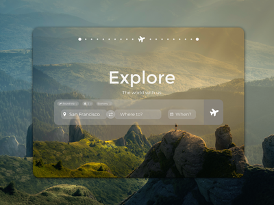 Daily UI 068 userexperience userinterface simple nature explore travel figma ux ui minimal clean dailyuichallenge flight search desgin flight search ui google flights google flight search daily ui 68 daily ui 068 daily ui