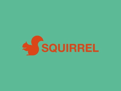 Squirrel Logo / Golden Ratio