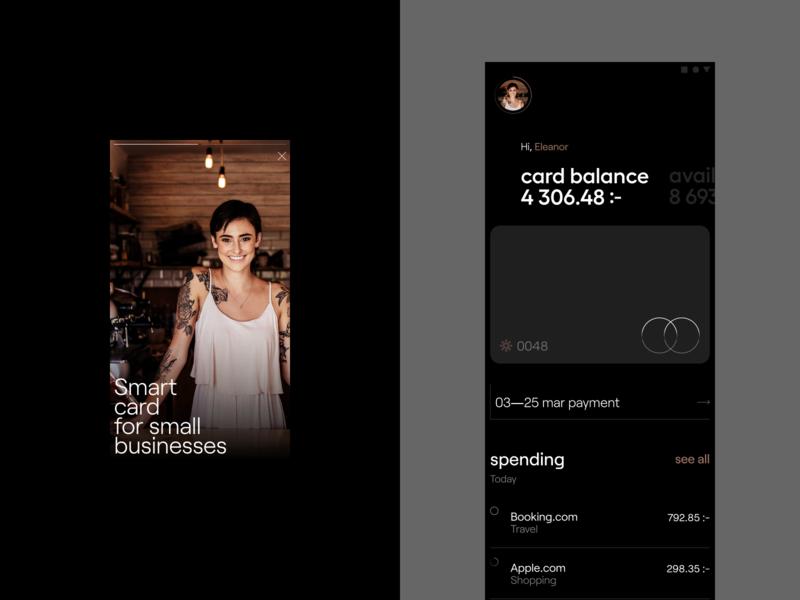 Mobile wallet app wallet visual design ui app andoid figma ux