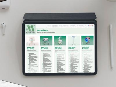 medicor.hu website