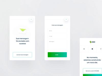 Conic Mobile ( form) form letter product design interface gif 3d motion website uiux ui animation