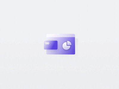 icon 3d bonusbank bank card bank vibrant icon design gradient icon gif illustration motion 3d ui animation