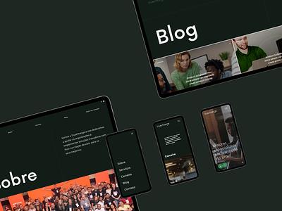 Truechange intern page mimalist web ui uidesign website uiux interface
