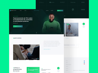 Homepage motion animated uidesign website daily ui product design ui uiux interface animation homepage