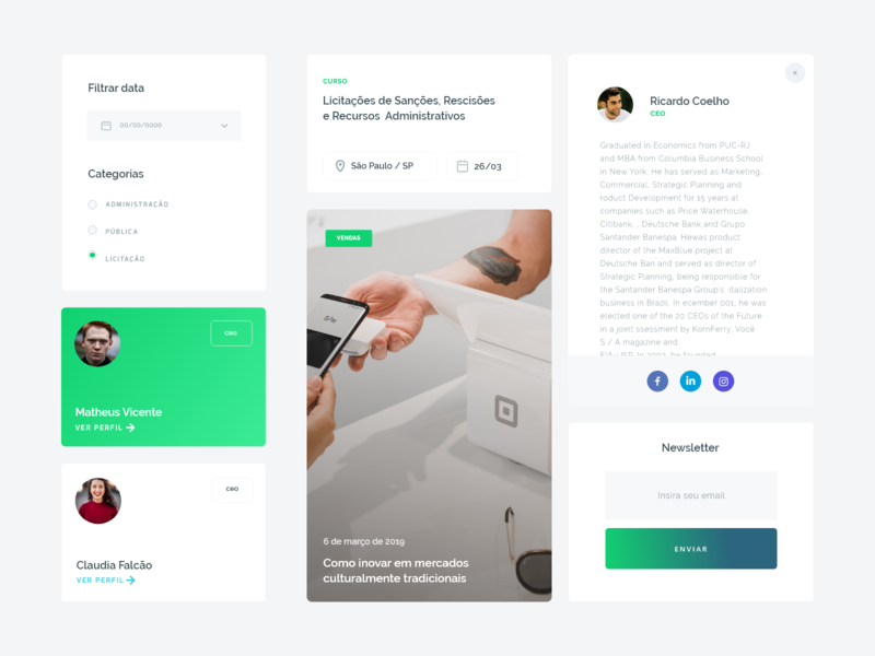 component interface clean adobe xd styleguide component ui design app website uidesign daily ui product design ui uiux interface animation