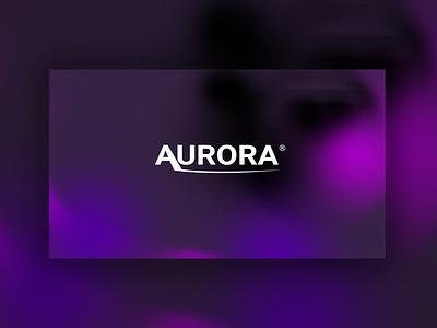 Aurora style aurora branding photoshop design