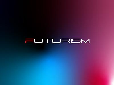 futurism art photoshop illustrator vector branding logo lettermark typeface design design