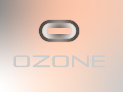 OZONE typography vector logo branding illustrator art design
