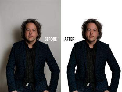 Do Photoshop hair masking