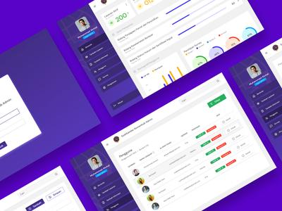 Admin Panel Simple UI ui ux  ui uiux uidesign