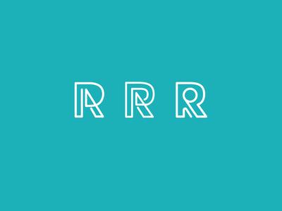 R monoline logo