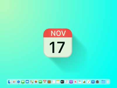 Apple Calendar - new icon logo design icon artwork icon set icon design icon apple