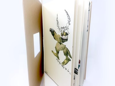 Where The Wild Things Are design graphic paper torn paper interpretation kids book handwriting illustraion