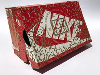 Just Create  / Laser Etched Youth Nike Box