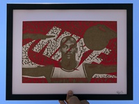 MJ Wings / Laser Cut Etched Nike Box