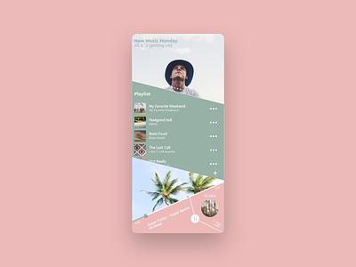 Music APP Concept concept ui app music mobile