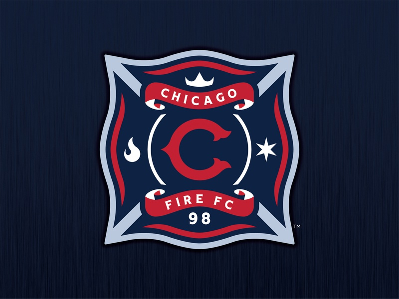 Chicago Fire FC - Logo Concept soccer cffc chicago fire chicago mls soccer mls 1998 fire branding futbol