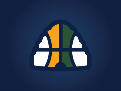 UTAH JAZZ - CITY HIVE EDITION - Logo Concept branding logos concepts city edition branding jazz utah basketball nba utah jazz