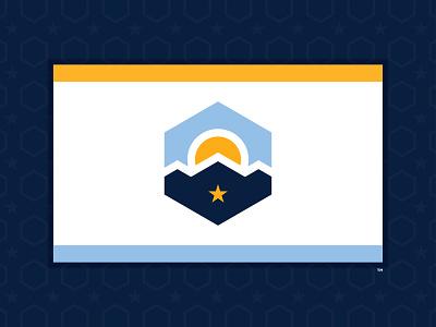 SALT LAKE CITY - 2020 FLAG REDESIGN #1 utah salt lake city 2020 design flag