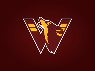 WASHINGTON REDWOLVES - LOGO CONCEPT 2020 designs washington dc logos branding redwolves washington nfl