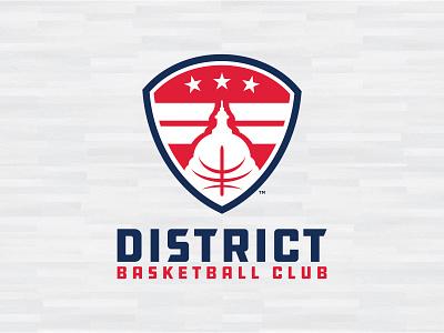 AAU DISTRICT BASKETBALL CLUB LOGO branding logos 2021 2020 club aau dc basketball