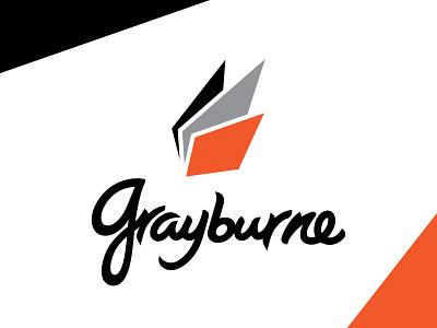GRAYBURNE - OFFICIAL LOGO sports branding logo