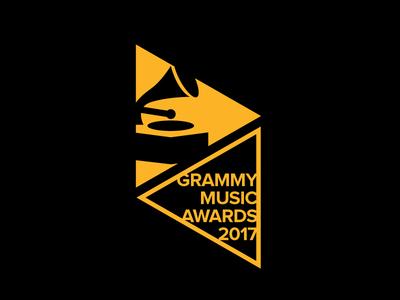 GRAMMY MUSIC AWARDS 2017 - Logo Concept
