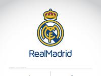 Real madrid logo concept by matthew harvey dribbble realmadrid logo poster 01 voltagebd Choice Image