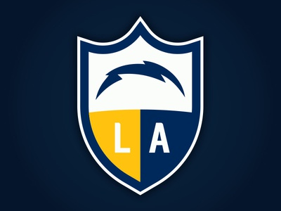 Los Angeles Chargers New Logo Concept By Matthew Harvey