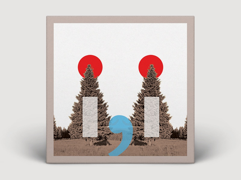 "BON IVER - "" i , i "" ALBUM COVER DESIGN albums 2019 wisconsin alternative icommai music bon iver"