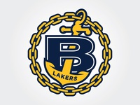 Bonneville High School Lakers - Updated Logo