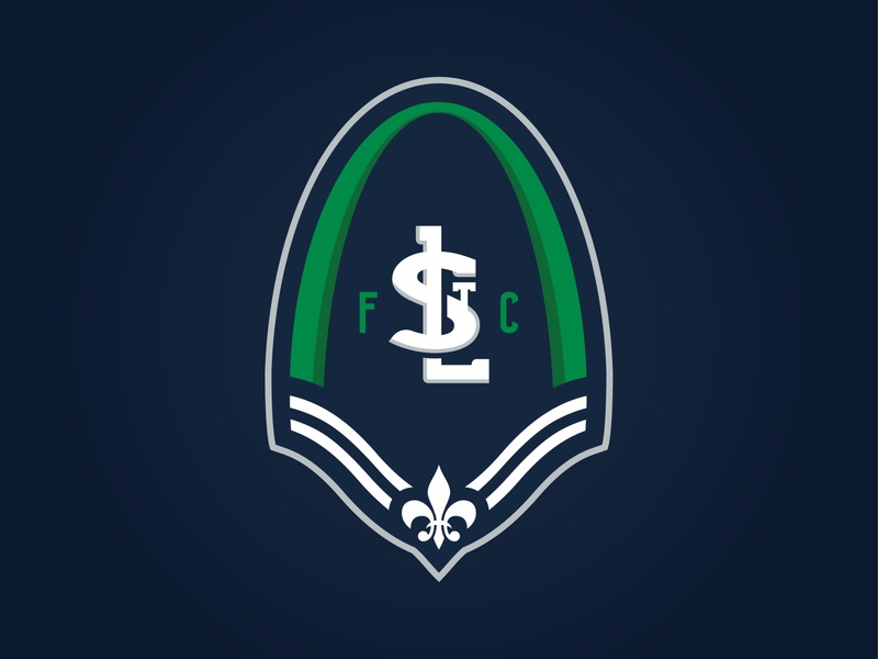 STLFC - LOGO CONCEPT 2019 trends expansion soccer club football st. louis stl soccer mls