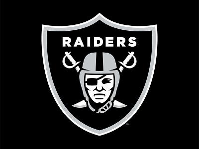 LAS VEGAS RAIDERS - Logo Concept branding logo football nfl oakland raiders las vegas