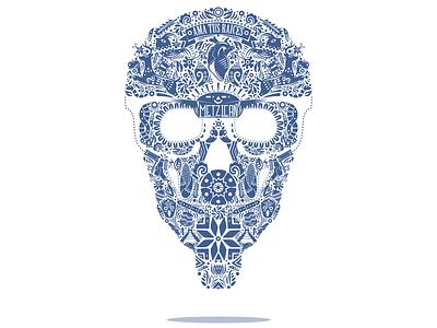 Ama tus raíces culture rescate cultural otomí mexico skull