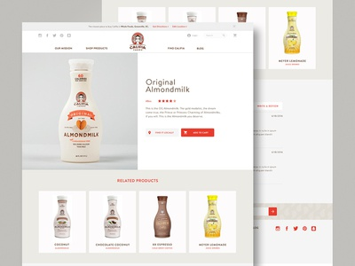 Califia Product Page