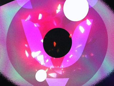 Verom   Dragon Eye character animation grain texture after effects motion design blink gradient eye eyeball