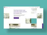 University Foundation | Concept Homepage