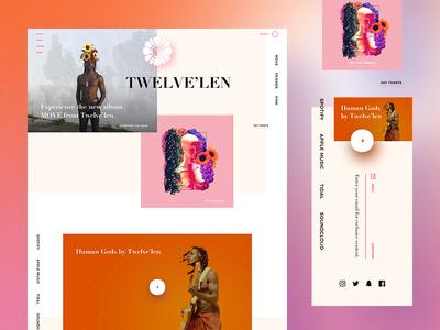 Twelve'len | Web Concept