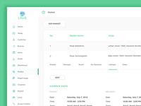 Sneek Peak Laundry Apps | Dashboard