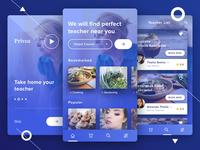 Privea - Private tutor apps Concept