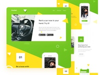 Oraribet - Rent Car Landing Page
