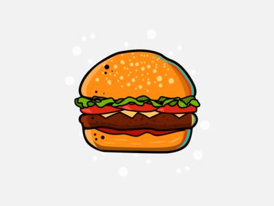 Burger Medium Rare
